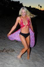 SARA BARRETT in Bikini Bottom at a Beach in Santa Barbara 10/09/2016