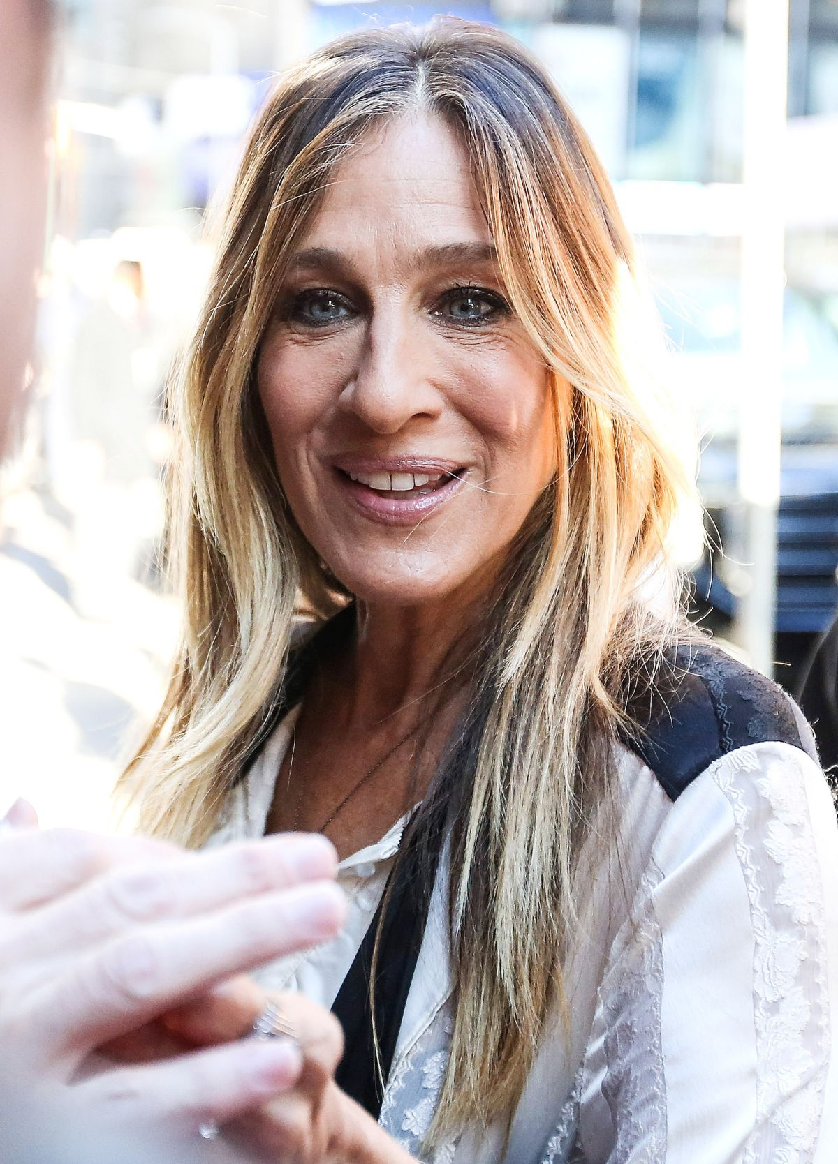 SARAH JESSICA PARKER at Good Morning America in New York ...