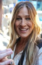 SARAH JESSICA PARKER at Good Morning America in New York 10/04/2016
