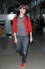 SARAH SILVERMAN at Los Angeles International Airport 10/20/2016