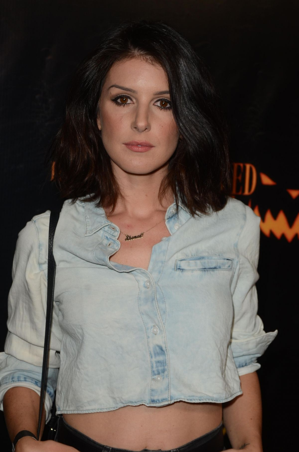 SHENAE GRIMES at LA Haunted Hayride at Griffith Park in Los Angeles 10/09/2016