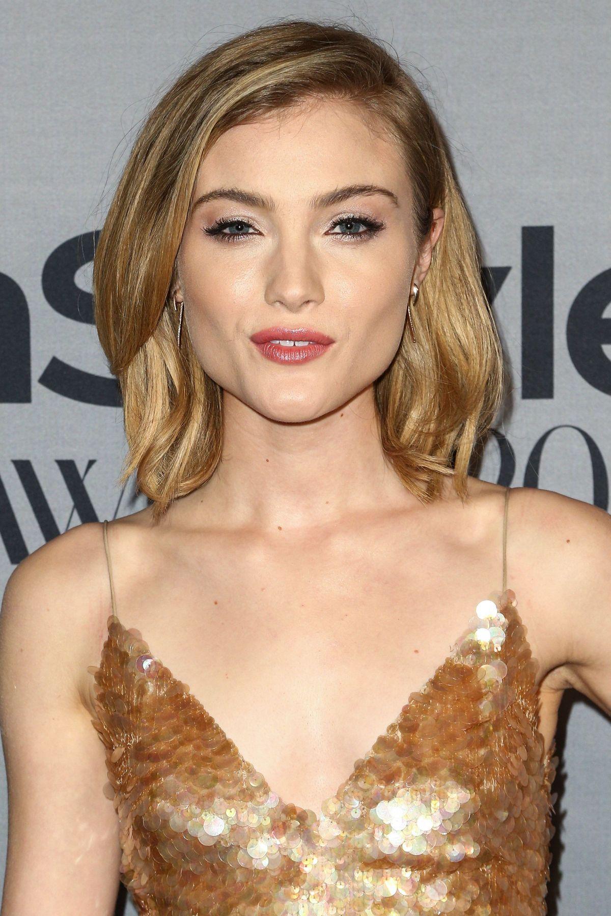 SKYLER SAMUELS at 2nd Annual Instyle Awards in Los Angeles 10/24/2016