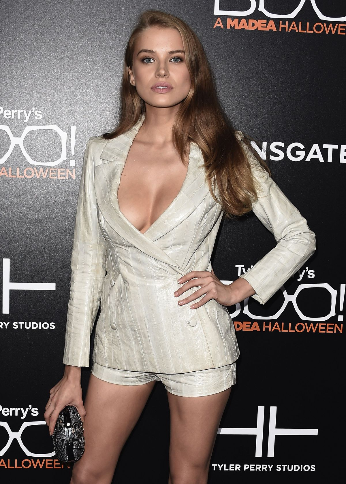 TANYA MITYUSHINA at 'Boo! A Maden Halloween' Premiere in Hollywood 10/18/2016