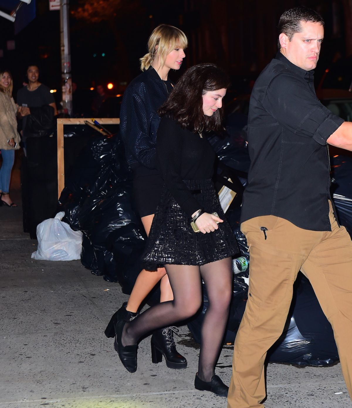 TAYLOR SWIFT and LORDE Leaves Le Poison Rouge in New York 10/12/2016