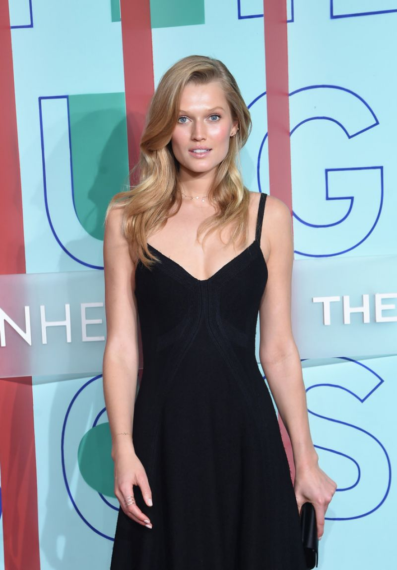 TONI GARRN at Hugo Boss and Guggenheim Celebration of 20th Anniversary of Hugo Boss Prize in New York 10/20/2016