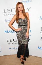 UNA HEALY at Make a Wish Foundation Sports Dinner in London 10/08/2016