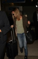 VANESSA PARADIS at LAX Airport in Los Angeles 10/18/2016
