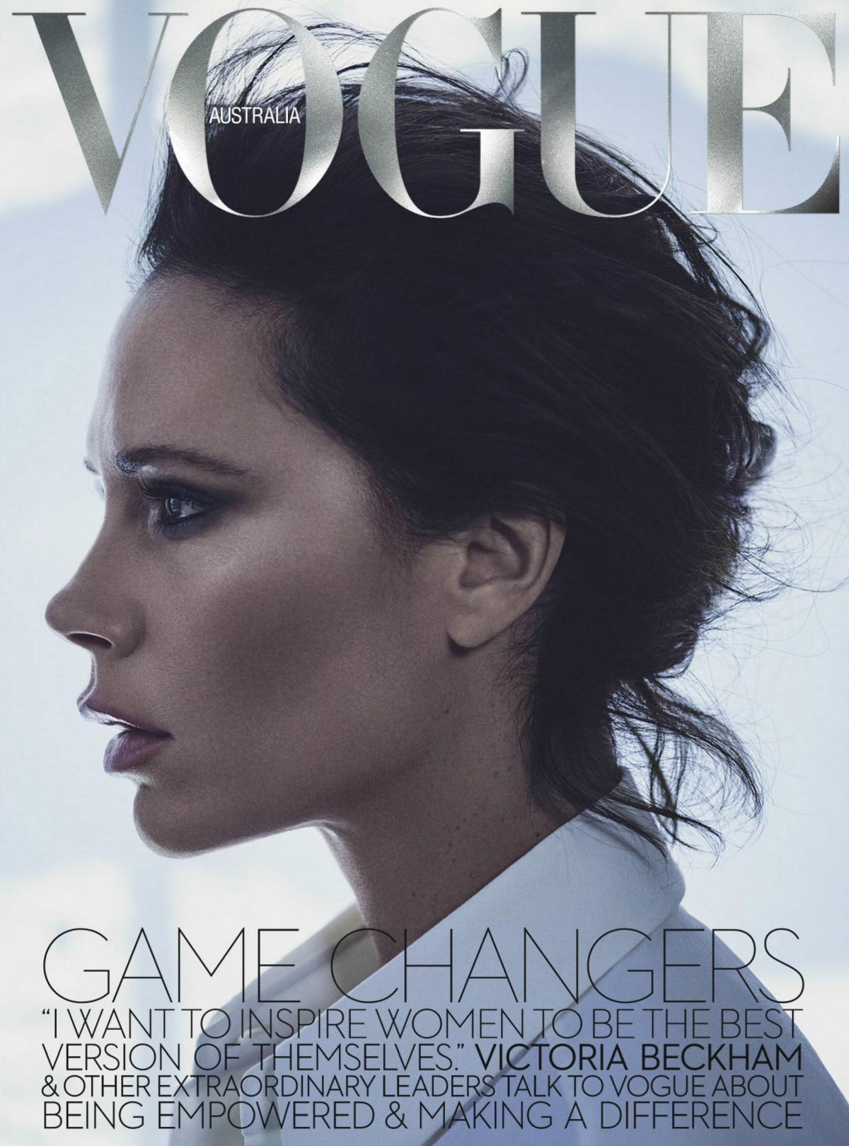 VICTORIA BECKHAM in Vogue Magazine, Australia November 2016