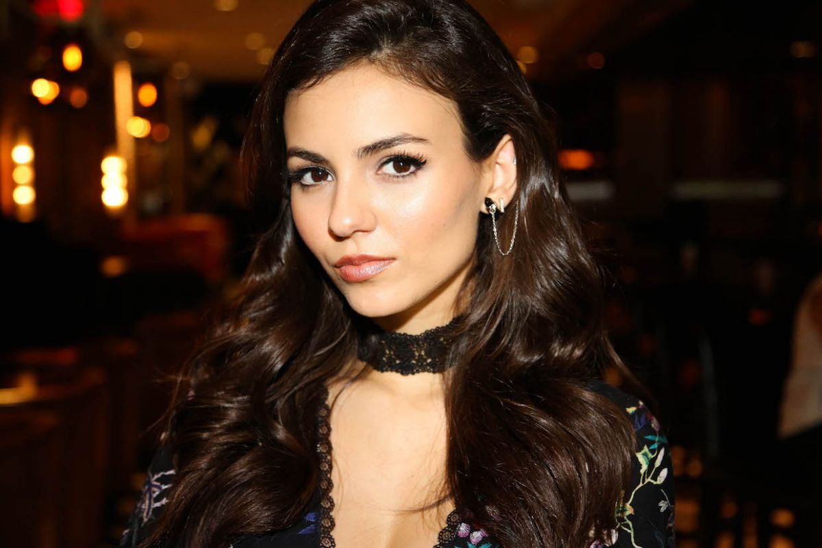 VICTORIA JUSTICE on the Set of a Photoshoot in New York 10/17/2016