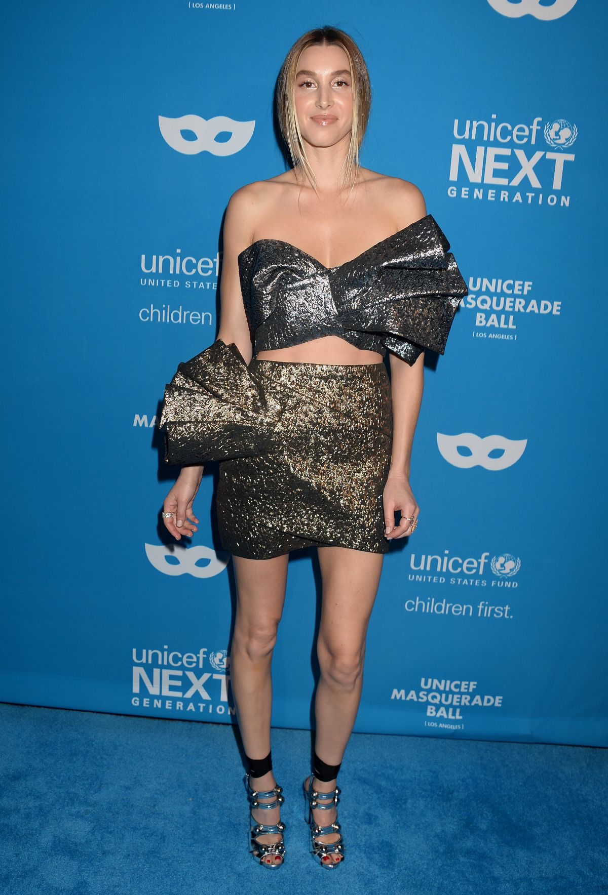 WHITNEY PORT at 2016 Unicef Masquerade Ball in Los Angeles 10/27 ...