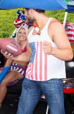 WWE - ALEXA BLISS Tailgating Photoshoot