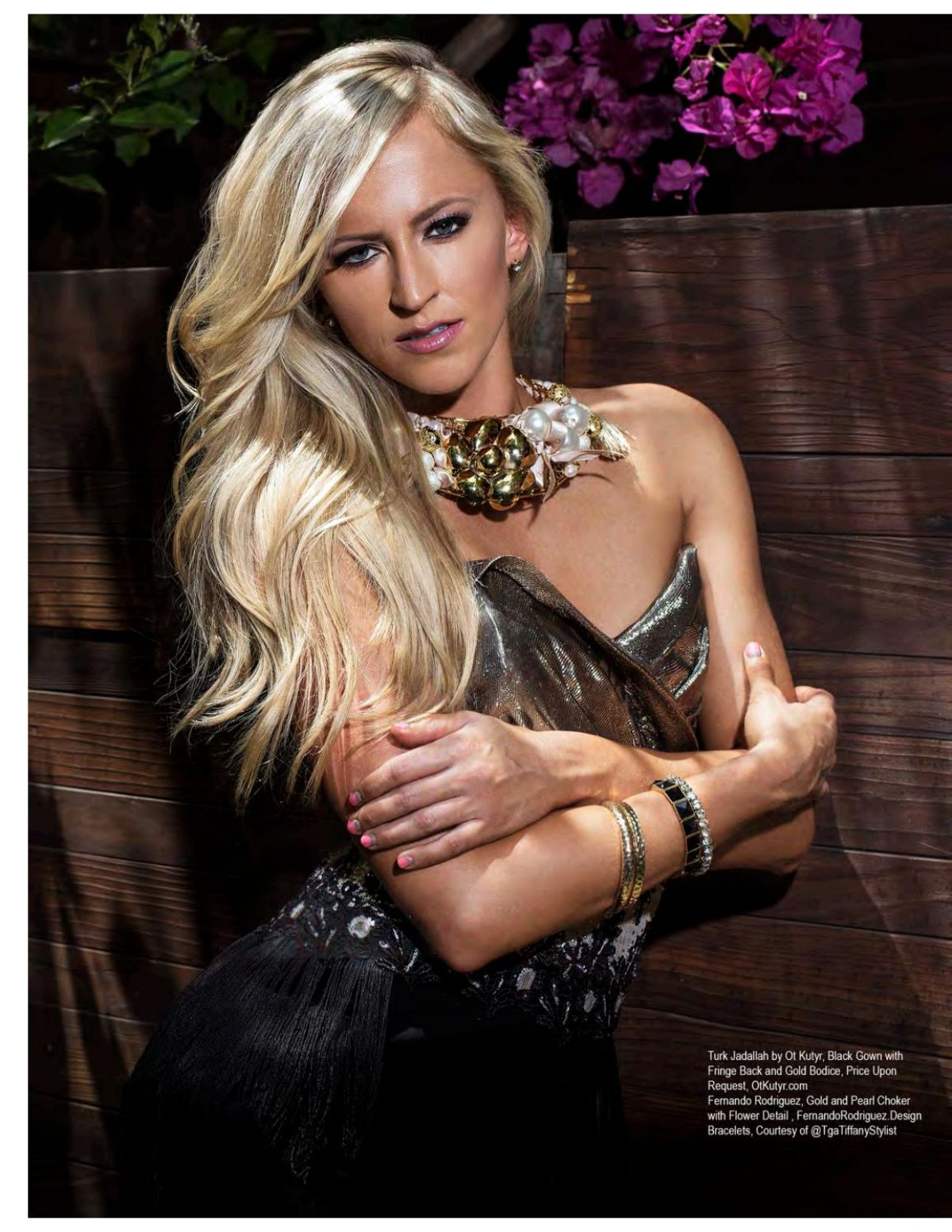 WWE - Summer Rae in Regard Magazine