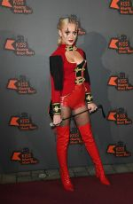 ZARA LARSSON at Kiss FM Haunted House Party in London 10/27/2016