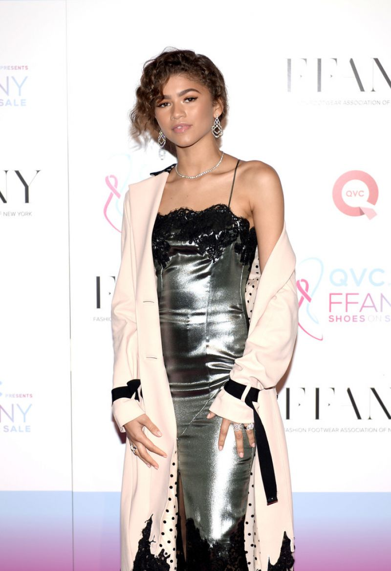 ZENDAYA COLEMAN at Ffany Shoes on Sale Event in New York 10/25/2016