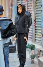 ZENDAYA COLEMAN on the Set of a Photoshoot for Daya By Zendaya in New York 10/15/2016