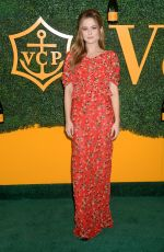 ZOEY DEUTCH at Veuve Clicquot Polo Classic in Los Angeles 10/15/2016
