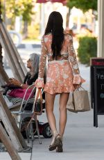 ADRIANA LIMA Out and About in Miami 11/13/2016