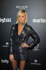 AGNIESZKA SZULIM at Mariusz Przybylski Fashion Show 11/22/2016