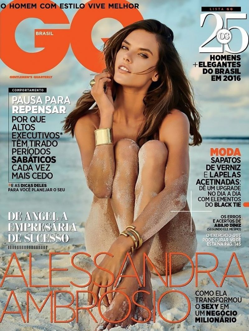 ALESSANDRA AMABROSIO in GQ Magazine, Brazil November 2016 Issue