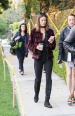 ALESSANDRA AMBROSIO Out and About in Los Angeles 10/31/2016
