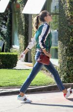 ALESSANDRA AMBROSIO Out and About in Los Angeles 11/18/2016