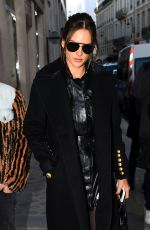 ALESSANDRA AMBROSIO Out and About in Paris 11/29/2016