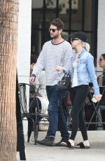 ALESSANDRA TORRESANI Out for Lunch in Los Angeles 11/12/2016