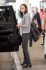 ALEXIS BLEDEL at Los Angeles International Airport 11/17/2016
