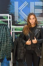 ALEXIS REN at Kenzo x H&M VIP Pre-shop Event in New York 11/02/2016