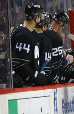 ALY RAISMAN at Vancouver Canucks vs New York Islanders Ceremonial Puck Drop in Brooklyn 11/07/2016