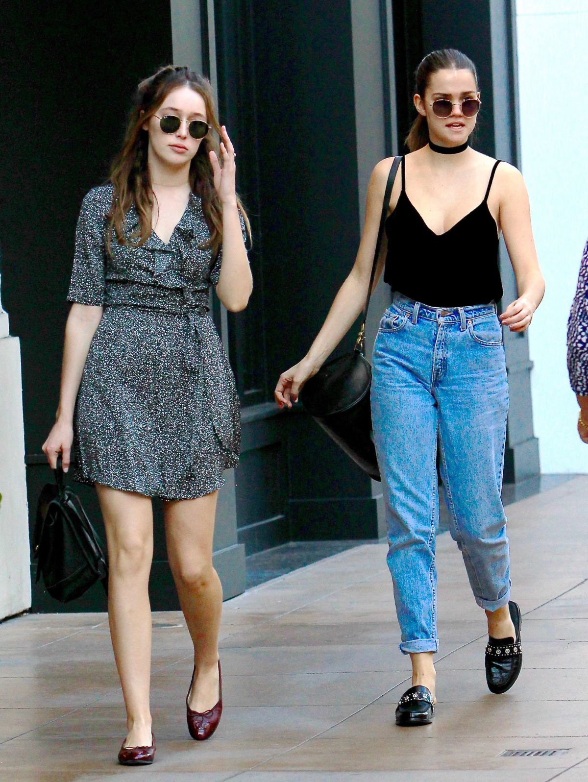 ALYCIA DEBNAM-CAREY Out with a Friend in Los Angeles 11/07/2016