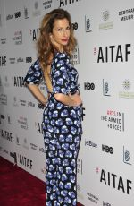 ALYSIA REINER at Arts in the Armed Forces Benefit Performance of 'Tape' in New York 11/07/2016