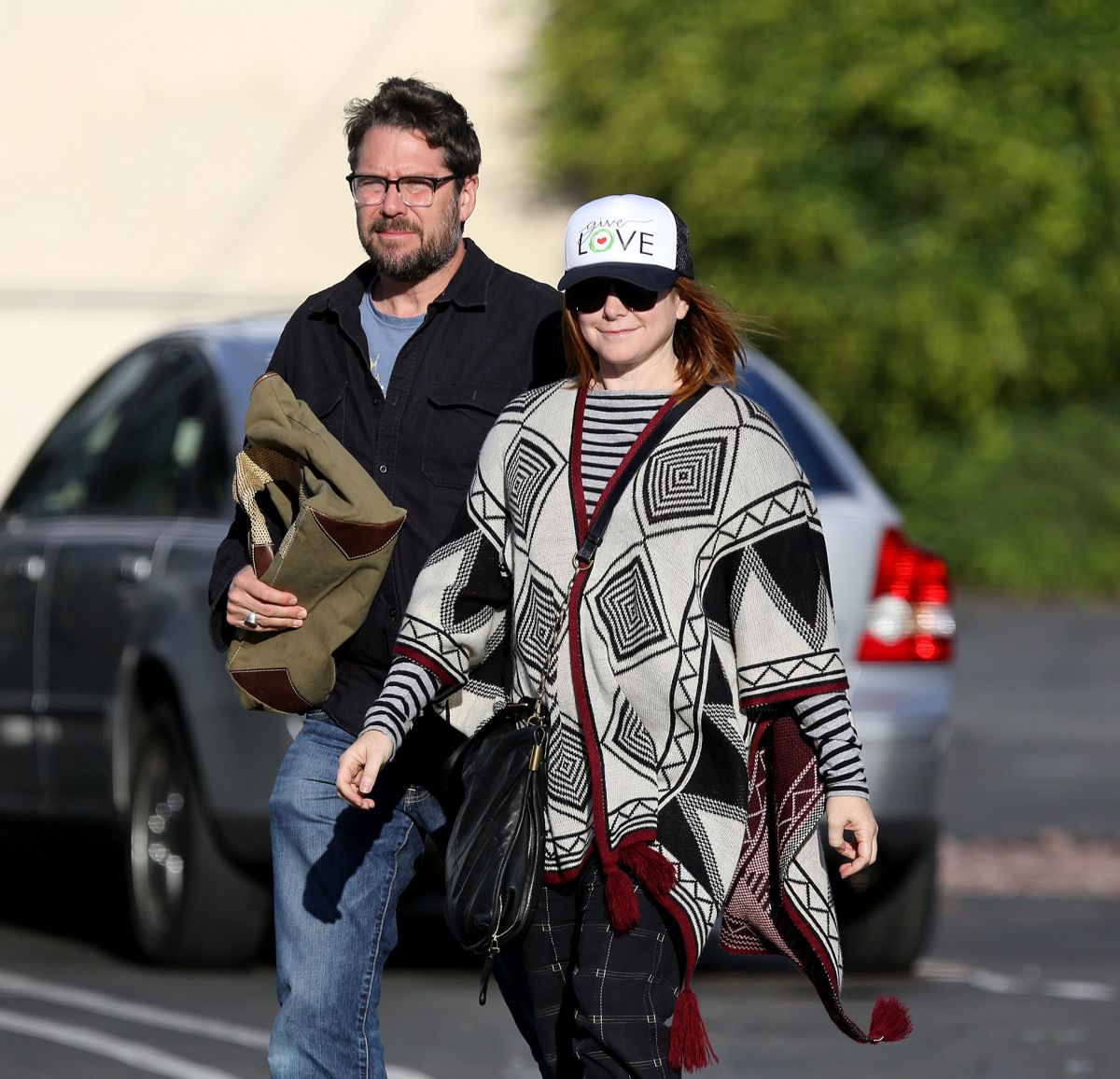 ALYSON HANNIGAN and Alexis Denisof Our in Venice Beach 11/27/2016