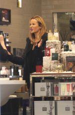 AMANDA HOLDEN at a Beauty Salon in London 11/26/2016