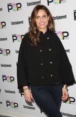 AMANDA PEET at Entertainment Weekly Popfest in Los Angeles 10/30/2016
