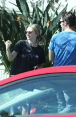AMANDA SEYFRIED Out and About in Los Angeles 11/08/2016