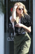 AMBER HEARD at a Cleaning Center in Los Angeles 11/07/2016