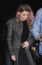 AMBER HEARD at a Halloween Party in Los Angeles 10/31/2016