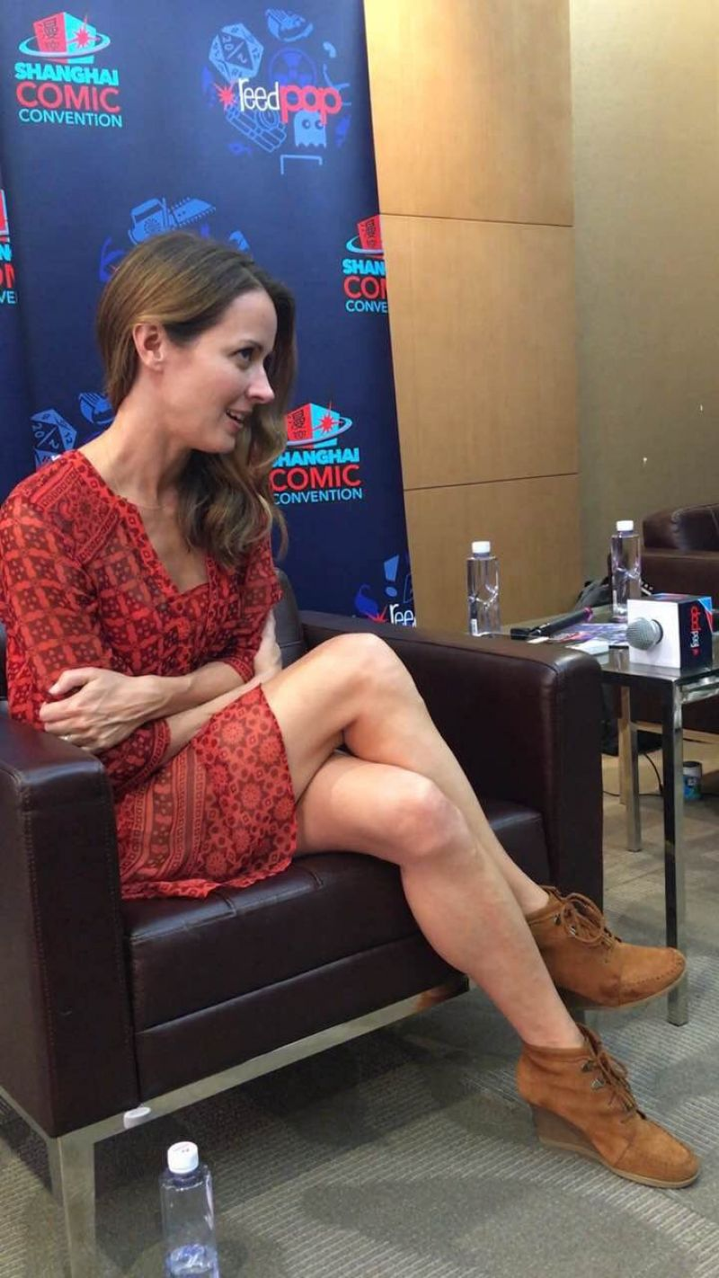 AMY ACKER at Shanghai Comic-con 11/05/2016