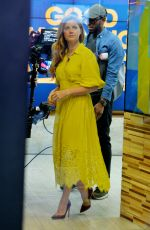 AMY ADAMS at Good Morning America in New York 11/10/2016