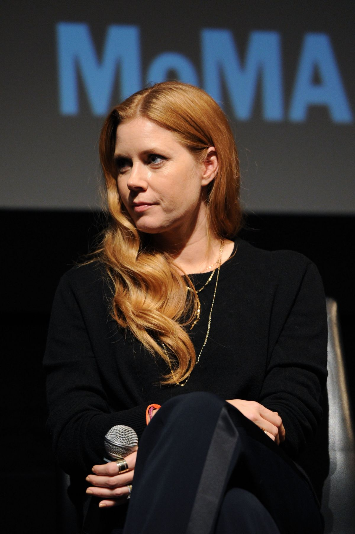 AMY ADAMS at MoMa's Contenders Screening of 'Arrival' in New ...