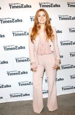 AMY ADAMS at Times Talks Appearance in New York 11/09/2016