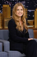 AMY ADAMS on the Set of Tonight Show Starring Jimmy Fallon in New York 11/10/2016