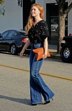 AMY ADAMS Out and About in Los Angeles 11/15/2016