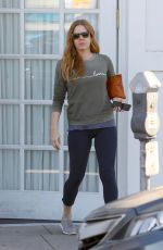 AMY ADAMS Out Shopping in Beverly Hills 11/14/2016