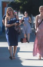 AMY SMART Out and About in Los Angeles 11/08/2016
