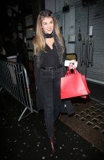 AMY WILLERTON Arrives at Sportfx Cosmetic and Sports Launch Party in London 10/11/2016