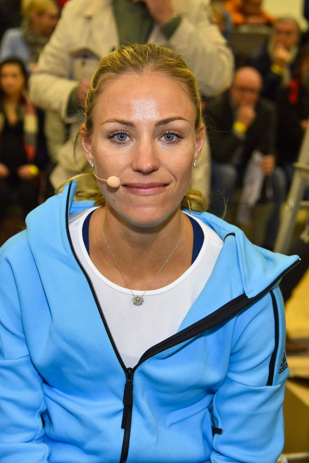 ANGELIQUE KERBER at Press Release from Tennis - Point and Batsman Jones in Hamburg 11/16/2016