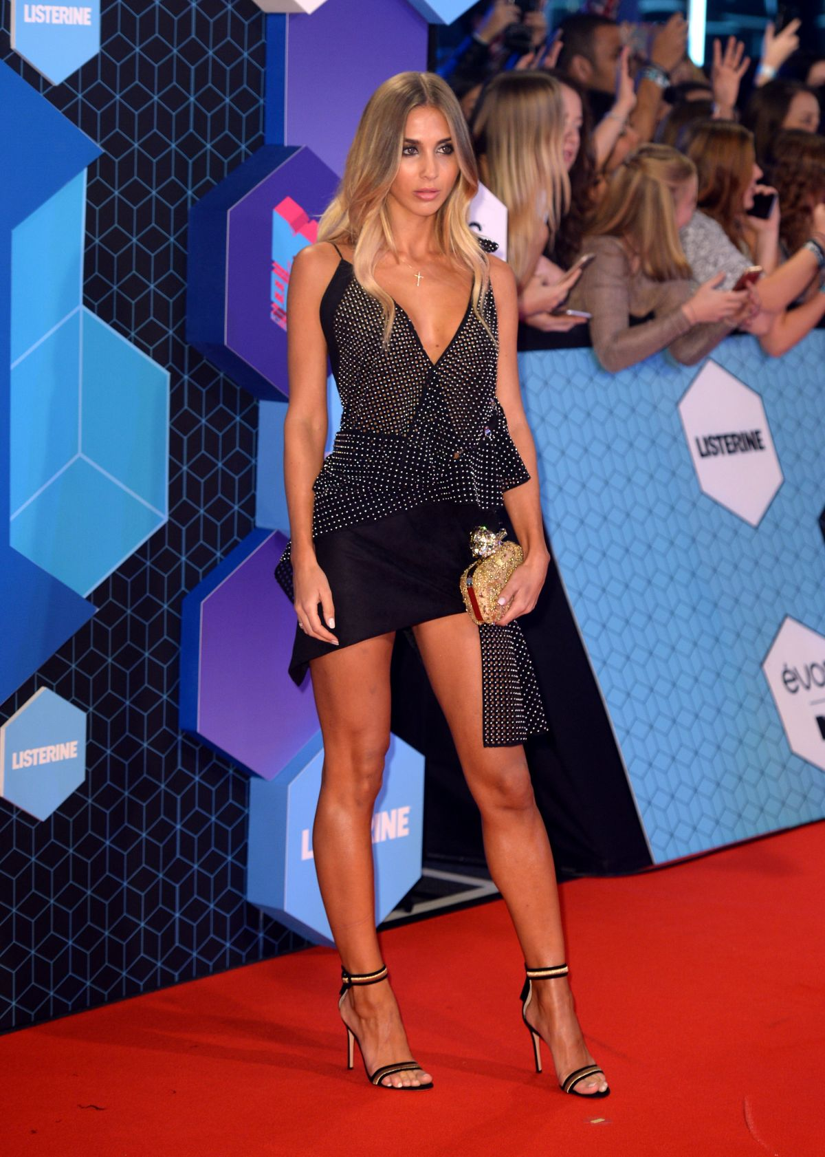 ANN KATHRIN BROMMEL at MTV Europe Music Awards 2016 in Rotterdam 11/06/2016