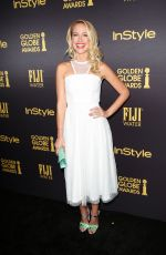 ANNA CAMP at HFPA & Instyle's Celebration of Golden Globe Awards Season in Los Angeles 11/10/2016
